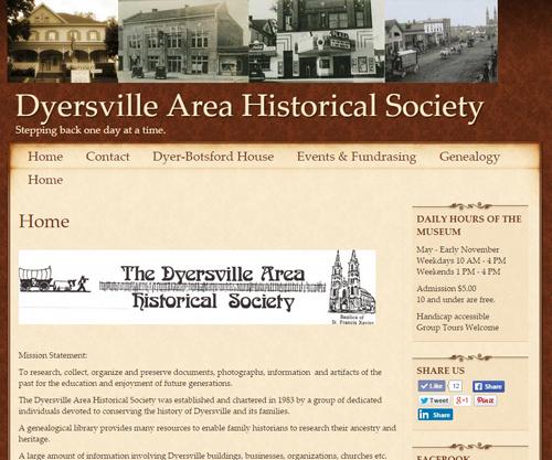 Dyersville Historical Society