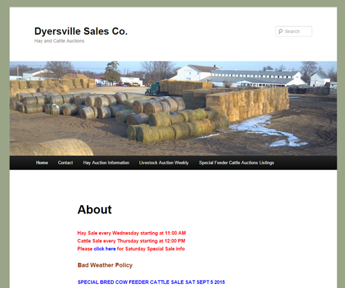 Dyersville Sales Co.