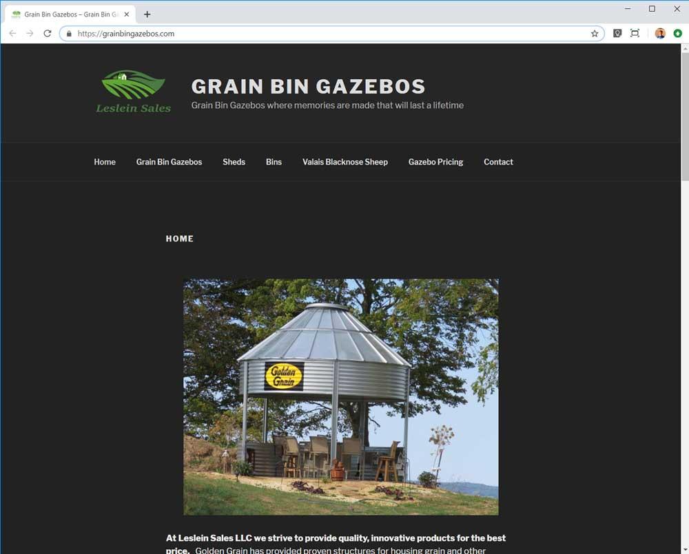 Grain Bin Gazebos